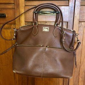 Dooney & Bourke Brown Leather satchel bag